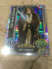 STAR WARS Force Awakens - Force Attax Trading Card #197 Obi-Wan Kenobi