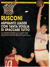 MA123-Clipping-Ritaglio 1990 Stefano Rusconi basket
