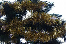 Christmas Holiday Xmas Gold Silver Diecut Tree Decoration Garland 9 ft NEW