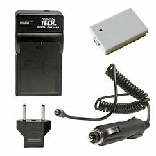 Premium Tech Rechargeable Battery & Charger for Canon BP-110