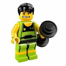 LEGO 8684 MINIFIGURES SERIES 2 - WEIGHT LIFTER repacked new