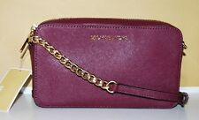 Michael Kors Handtasche Bag Neu Jet Set Travel XBody Crossbody Tasche Plum MK