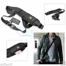 Single Shoulder Sling Belt Strap for DSLR Digital SLR Camera Quick Rapid FO