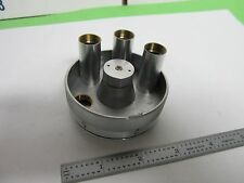MICROSCOPE PART ZEISS GERMANY  EPIPLAN NOSEPIECE AS IS BIN#Q6-18
