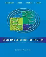 EBOOK - PDF Designing Effective Instruction, 7th Edition  Gary R. Morrison