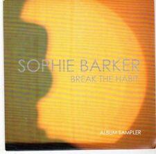 (EL175) Sophie Barker, Break The Habit sampler - 2014 DJ CD