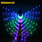126 LED isis wings rechargeable belly dance club light show free sticks BAG Sale