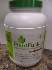 PLANTFUSION CHOCOLATE RASPBERRY PLANT PROTEIN  2LBS  FAST/FREE SHIPPING