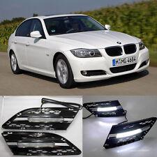 LED Daytime Running Lights DRL Fog Lamp For BMW 3-Series E90 E91 328 335 2007-12