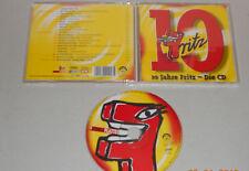 CD 10 Jahre Fritz - die CD 20.Tracks 2003 sehr gut Paul van Dyk Seeed Sportis ..