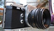 Edixa Flex SLR 35mm Camera + 58mm f2 Helios 44-2 Lens c.1858-1969