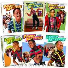 Family Matters: Complete Seasons 1 2 3 4 5 6 Box / DVD Set(s) Collection NEW!