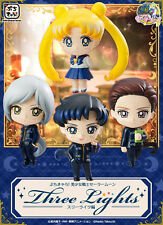 Sailor Moon Three Lights Petit Chara Land Set of 4 Trading Figure
