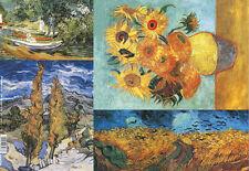 Papier de riz DFS096 Peinture Van Gogh Decoupage Rice Paper Painting serviette