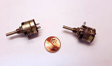 381-NS  Clarostat 500K ohm 1w Pot  w/Switch, Single Turn Std Shaft  S-Taper