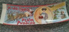 1910  Rare Ye Olde English Plum Pudding Can Label - Santa and Reindeer
