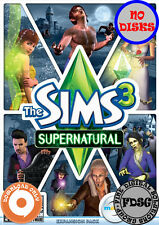 The Sims 3 Supernatural (PC&Mac, 2012) Origin Download Region Free