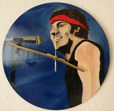 BRUCE SPRINGSTEEN.clock from recycled vinyl.Neil Young.Pearl Jam.Eddie Vedder.