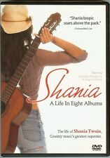 Shania Twain - A Life in Eight Albums - DVD - NEW