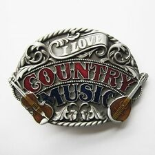 NEW RODEO COWBOY COUNTRY MUSIC LOVE GUITAR BELT BUCKLE