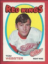 1971-72 O-Pee-Chee Hockey # 78 TOM WEBSTER