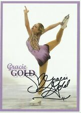 USA GRACIE GOLD  Signed 5x7 Promo 2014 Sochi Olympics