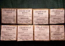 8 bars 7.5oz ALEPPO SOAP 90% Olive oil, 7% Laurel oil, glycerine left in!NATURAL