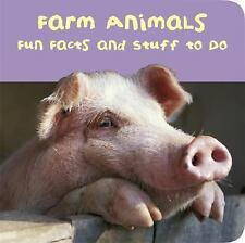Farm Animals ~ Fun Facts & Stuff To Do (2006, Padded Board Book) Brand New