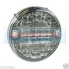 12V/24V LED SLIM SLIMLINE FLUSH FIT REAR ROUND HAMBURGER REVERSE LAMP LIGHT