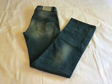 NWT DIESEL Larkee in 0850U Stretch Distressed Straight Denim Jeans Men's 31 x 32