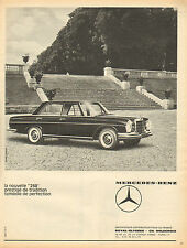Publicité Advertising 1964  MERCEDES BENZ  la nouvelle 250