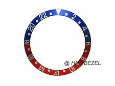 NEW HIGH QUALITY BLUE & RED BEZEL INSERT FOR ROLEX GMT MASTER I/II & SUBMARINER