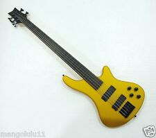 Fretless 5 String Electric Bass  Bolt_On Maple Neck KB5-200