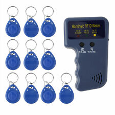 !Handheld 125KHz RFID Copier/Writer/Readers/Duplicator With 10PCS ID Tags T!W