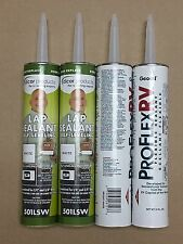 CP #18: 2 Tubes of Dicor 501LSW Self-Leveling & 2 Tubes ProFlex RV Bright White
