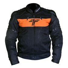 Tarmac One II Protective Riding Jacket Orange/Black L size