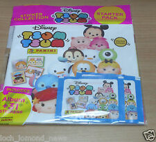 Panini Disney Tsum Tsum Sticker Collection Album Starter Pack + 31 Stickers