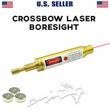 Crossbow Bolt Laser Boresight Bore Sight with Batteries Sight Zero In US seller