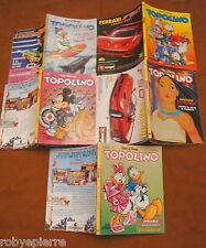 Lotto 5 topolini n 1970 2085 2086 2087 2088 fumetti in blocco disney 1993 - 1995