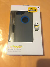 NEW Otterbox Defender  Case for Apple iPhone 7 W/ Cover & Holster Clip - Grey