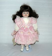 VICTORIA MUSICAL PORCELAIN 16 INCH DOLL UNCHAINED MELODY MUSIC