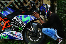 "KTM RC RACING SERIES ""MOVISTAR INSPIRED KIT""  www.wrapandride.com ..."