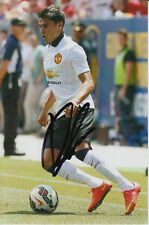 MANCHESTER UNITED HAND SIGNED REECE JAMES 6X4 PHOTO 1.
