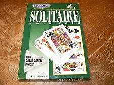 "Solitaire Twin Pack PC 3.5"" Floppy Personal Companion Software for Windows 3.1"