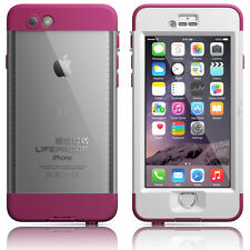 "LifeProof iPhone 6 4.7"" Nuud WaterProof Case Pink Pursuit Authentic OEM New"