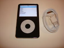 APPLE  IPOD  VIDEO  5.5  GEN..  CUStOM THIN...  BLACK  60GB...NEW  HARD DRIVE...