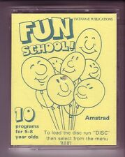 Fun School Ages 5-8 (Database / CWA) Amstrad DISK Disc