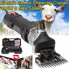 480W 220V Electric Sheep Shearing Clipper Shear Goats Supplies Alpaca Farm Shear