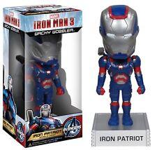 Marvel Iron Man 3 Iron Patriot Wacky Wobblers BobbleHead Funko
