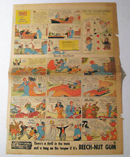 1935 Original Sunday Comics Page Classic Collectible Philadelphia Newspaper